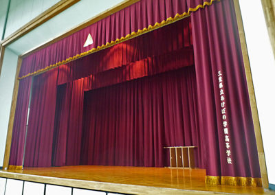 祝🌸卒業 新たな旅たちの舞台幕をリニューアル