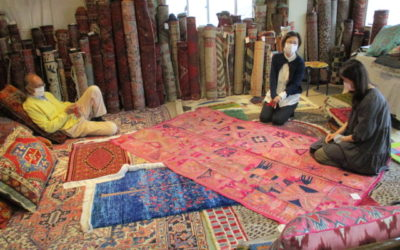 絨毯展2021 in IGA 開催しました❗